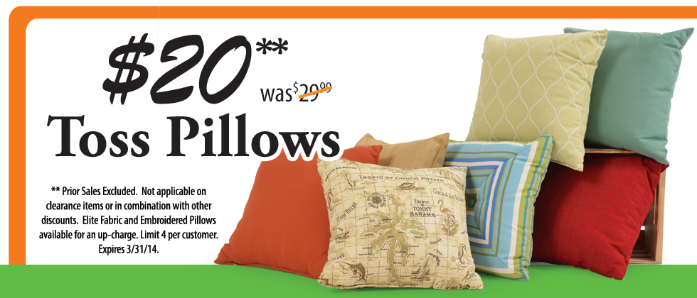 Throw Pillows on Sale