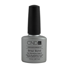 Bonding Primer 0.25 oz.  Air-dry bonding agent provides maximum adhesion of gel enhancements to the natural nail.  What it is: Bonding agent that helps permanently adhere gel enhancements to the natural nail.  What it does: Forms powerful covalent bonds between gel enhancements and natural nails for superior adhesion.  Why you need it: To prevent lifting and promote longer wear.