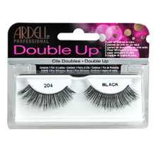 204 Black Ardell Double Up Professional Eyelashes False Lashes
