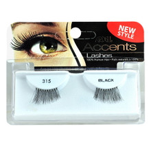 Made with 100% European Human Hair. Contains 1 Pair of Lashes.  Instructions: Gently flex band. Align band with natural lash line to check fit. If necessary, trim the outer end with scissors. Apply a thin line of LashGrip Eyelash Adhesive along band. Wait for 30 seconds until adhesive becomes tacky. Place band against eyelid as close to lash roots as possible. Gently press corners and along the band to secure.To Remove: Gently peel lash off lid, starting at the outer corner. Remove adhesive from band. Place lashes back on tray to keep shape for re-use.
