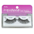 These lashes feature an invisible, lightweight band that connects the hair strands to form a strip that ensures secure corners. They are knotted and feathered by hand for perfect uniformity, absolute comfort and an outstanding natural look.