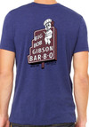 Big Bob Gibson T-Shirt Blue  Vintage