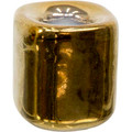 Gold Ceramic Chime Candle Holder