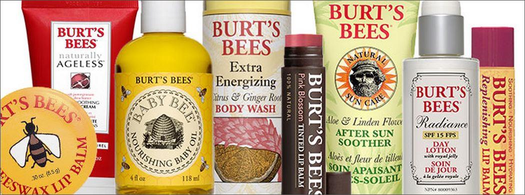 burts bees banner