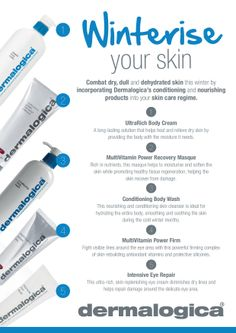 Dermalogica Winterise your skin I Beautyfeatures.ie