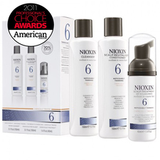 Nioxin System Kit 6 Thinning Medium to Coarse | Beautyfeatures.ie