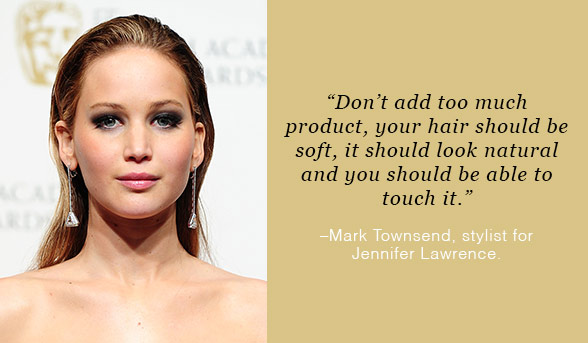 Jennifer Lawrence Moroccan Oil Styling Gel | Beautyfeatures.ie