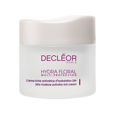 Decleor hydra floral multi-protection rich cream | Beautyfeatures.ie