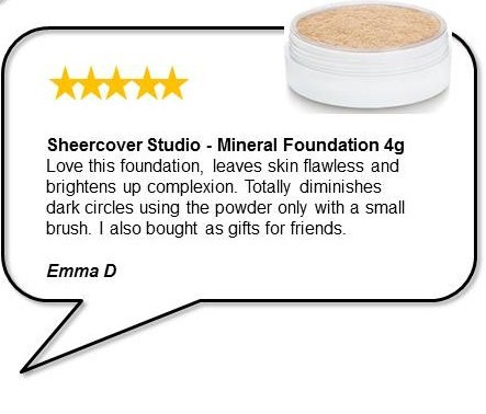 Sheer Cover Studio Mineral Foundation   Beautyfeatures.ie