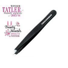 Tweezerman Slant Tweezer Black | Beautyfeatures.ie