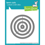 Lawn Fawn Cuts - Small Dotted Circle Stackables (Preorder) (LF1278)