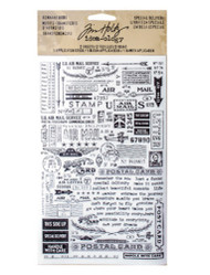 Tim Holtz Remnant Rubs - Special Delivery (TH93188)