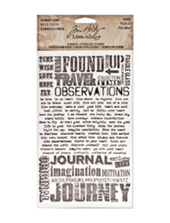 Tim Holtz Remnant Rubs - Words (TH93055)