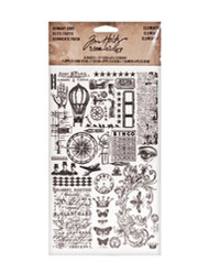 Tim Holtz Remnant Rubs - Elements (TH93057)