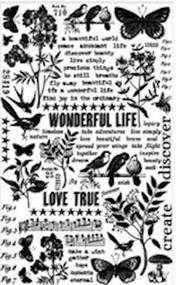 Tim Holtz Remnant Rubs - Botanical (TH93119)