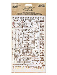 Tim Holtz Remnant Rubs - Gilded Accents (TH93287)
