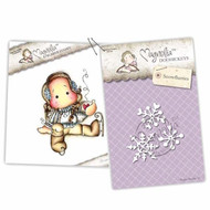 Magnolia Stamps - Stamp & Cutz - Aspen Holidays - Cocoa Tilda and Snowflurries