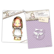 Magnolia Stamps - Stamp & Cutz - Capturing Moments - Swedish Tilda & Bow