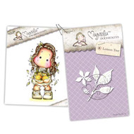 Magnolia Stamps - Stamp & Cutz - Capturing Moments - Italy Tilda & Lemon Tree