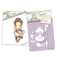 Magnolia Stamps - Stamp & Cutz - Capturing Moments - Danish Royal Opera Tilda & Violin