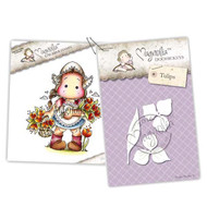 Magnolia Stamps - Stamp & Cutz - Capturing Moments - Netherlands Tilda & Tulips