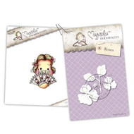 Magnolia Stamps - Stamp & Cutz - Capturing Moments - Spanish Singorina Tilda & Roses
