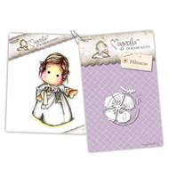 Magnolia Stamps - Stamp & Cutz - Capturing Moments - Korean Tilda & Hibiscus