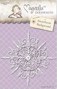Magnolia Stamps - Aspen Holidays - DooHickey - Snowflurries Background