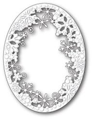 Memory Box - Craft Die - Dancing Snowflake Oval