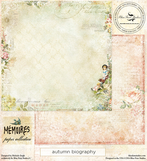 Blue Fern Studio - Memoires - Autumn Biography