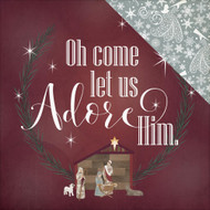 Photo Play - Luke 2 Oh Come Let Us Adore Him