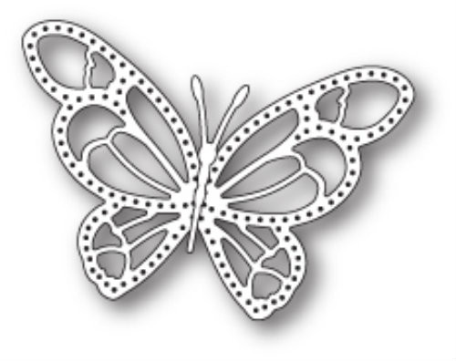 Poppystamps Craft Die - Daphne Butterfly