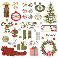 Photoplay - Holiday Cheer - Ephemera Cardstock Die-cuts