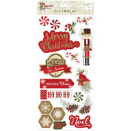 Photoplay - Holiday Cheer- Chipboard