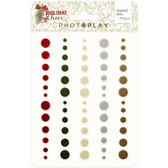 Photoplay - Holiday Cheer - Adhesive Enamel Dots
