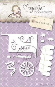 Magnolia Stamps DooHickey - Early Bird - Honey Carriage