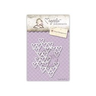 Magnolia Stamps DooHickey - Heart Background