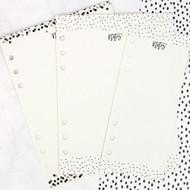Prima Marketing -My Prima Planner - Dry Erase Board Inserts