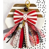 Prima Marketing - Planner Bow Tassel W/Clasp  - Pretty N Rouge