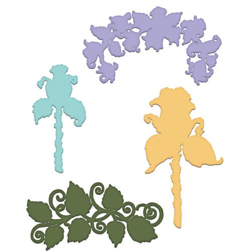 Heartfelt Creations - Blushing Rose Stem -Cut & Emboss Dies