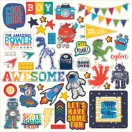 Photoplay -My Imagination - Element Stickers -Pre Order