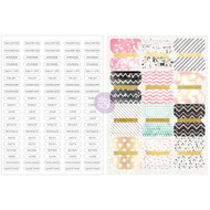 Prima Love, Faith, Scrap Planner Divider Tabs