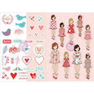 Prima Marketing Planner Monthly Stickers -February - By Julie Nutting
