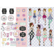 Prima Marketing Planner Monthly Stickers - May - By Julie Nutting