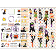 Prima Marketing Planner Monthly Stickers -October - By Julie Nutting