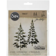 Sizzix Thinlits Dies by Tim Holtz - Woodlands (660978)