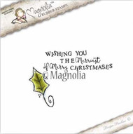 Magnolia Stamps - Aspen Holidays - Wishing You Oak Leaf Kit