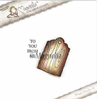 Magnolia Stamps - Aspen Holidays - To You, Wood Tag Kit