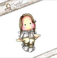 Magnolia Stamps - Aspen Holidays - Tilda With Sock Puffs