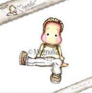 Magnolia Stamps - Aspen Holidays - Sitting Cozy Edwin